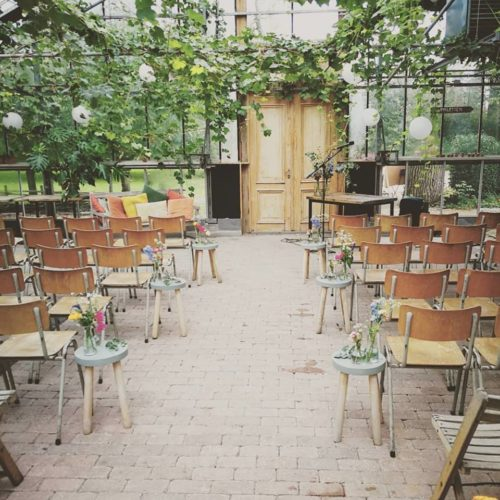 In de Kas unieke locatie voor bruiloft trouwen winssen Gelderland